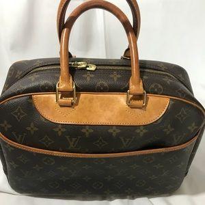 Authentic Louis Vuitton Deauville Bag